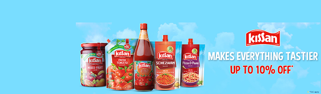 Kissan UP TO 10% OFF