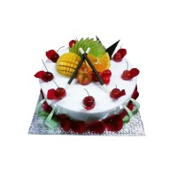 CHERRY AND PETAL CAKE WITH FRUIT 3 KG