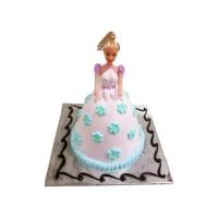 FLOWER BARBIE DOLL CAKE 4KG